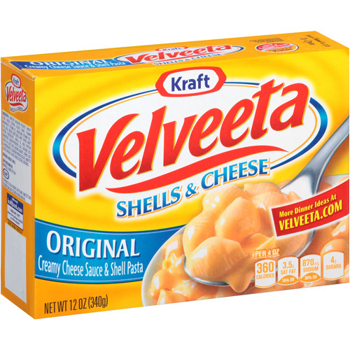 Kraft Original Velveeta Shells & Cheese, 12 oz