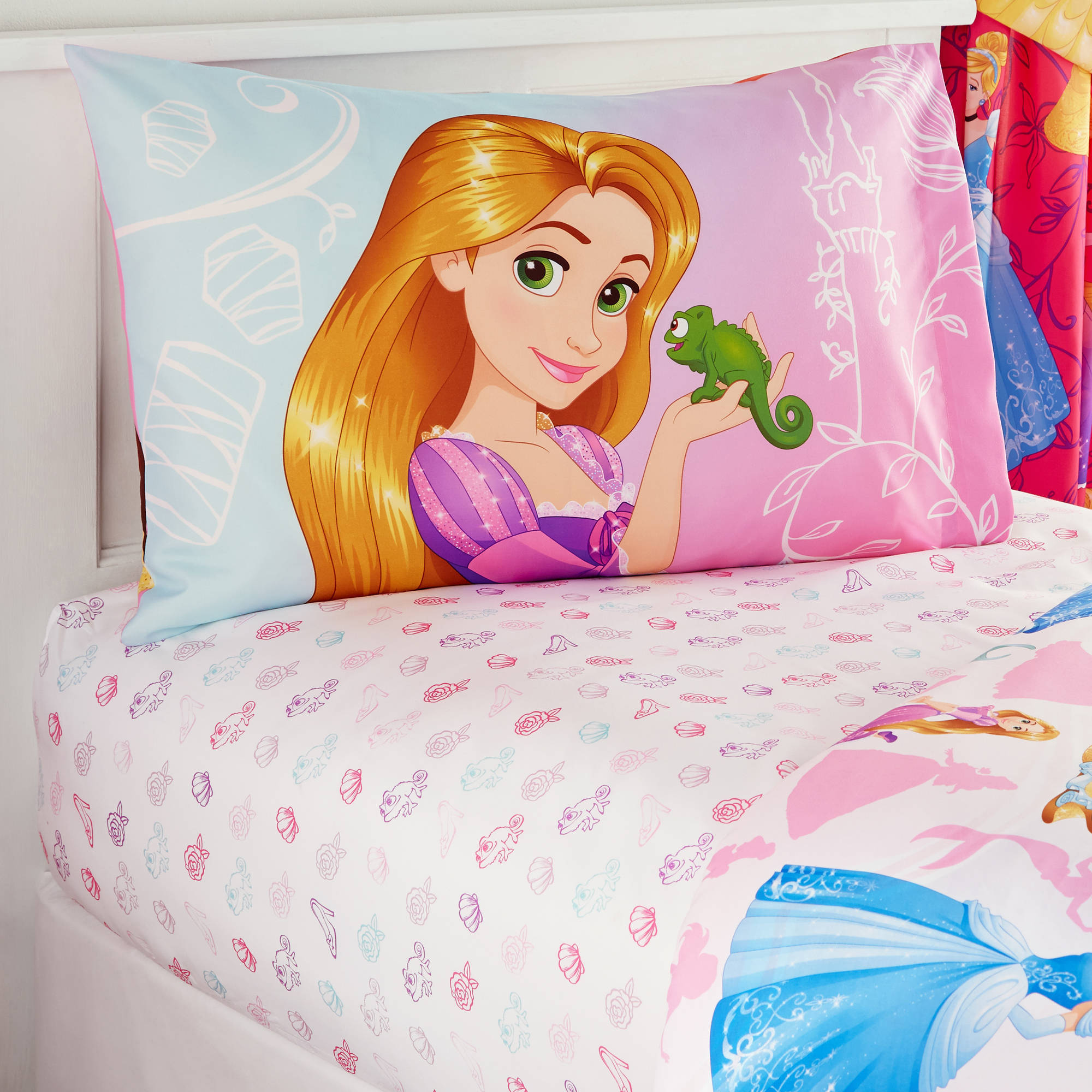 Disney Princess Bedazzling Princess Bedding Sheet Set