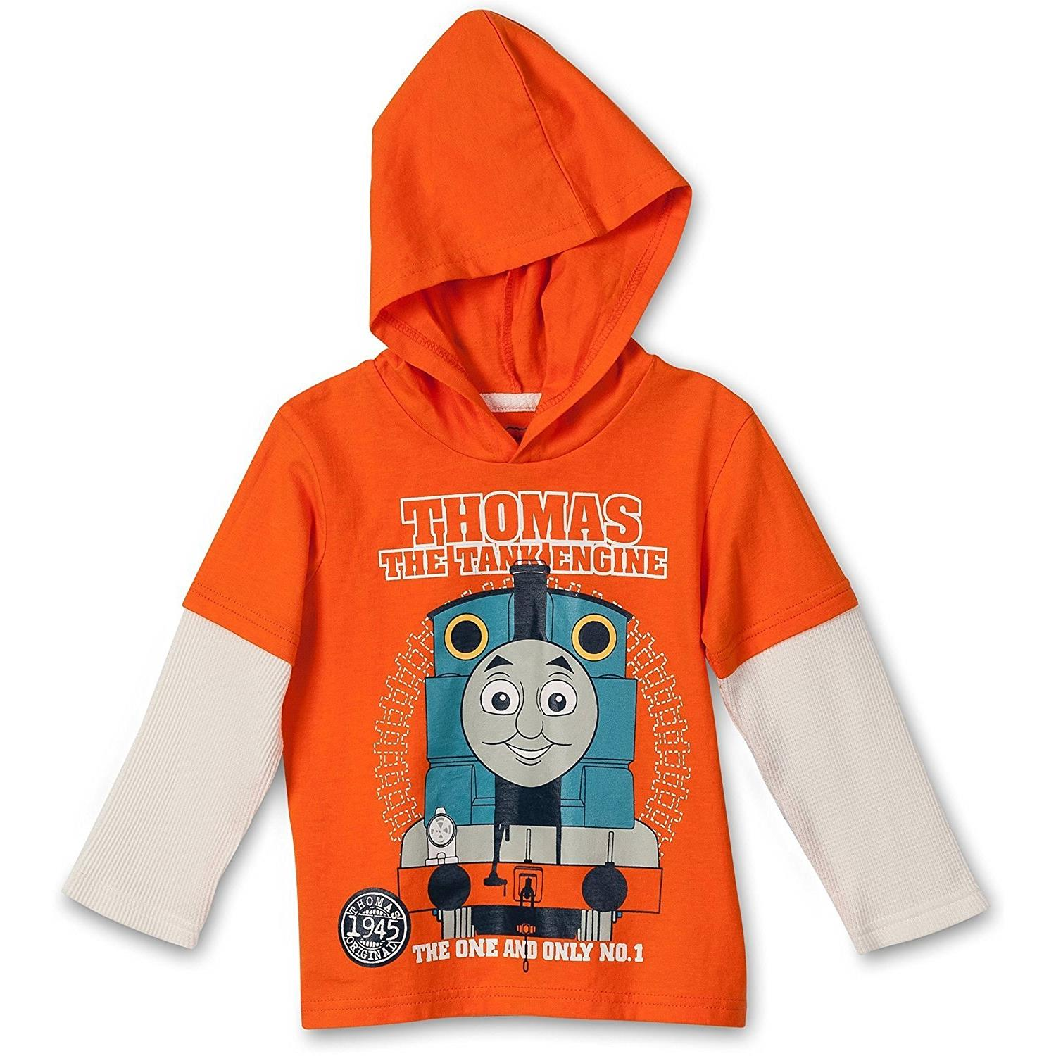 Thomas the Tank Engine Little Boys Hoodie/Sweatshirt, Toddler Sizes 2T-4T