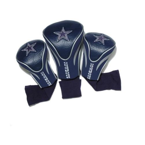 Team Golf 32394 Dallas Cowboys 3 Pack Contour Fit Headcover