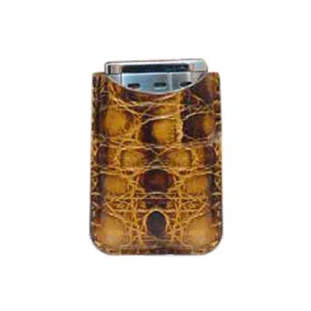 Tampa Fuego Brown Cigar Lighter Case Vintage Crocodile Fits Xikar (Vintage Crocodile Handbags)