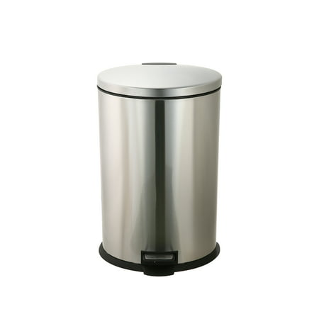 Better Homes & Gardens 10.5G Stainless Steel Oval Waste Can