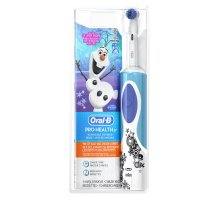 Braun Rechargeable Toothbrush (Oral-B Kids Electric Rechargeable Power Toothbrush Featuring Disney's Frozen, includes 2 Sensitive Brush Heads, Powered by Braun )