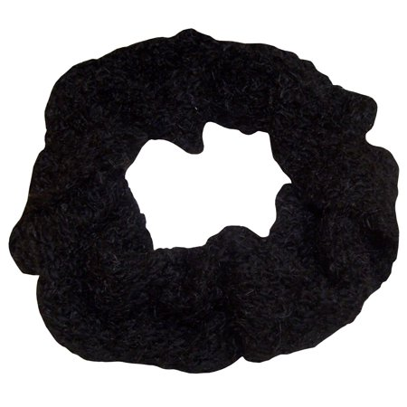 NICE CAPS Womens Iceland Yarn And Feather Circle Infinity Scarf For Winter Snow Cold Weather - Fits Ladies Adults Sizes (Scary For Adults)
