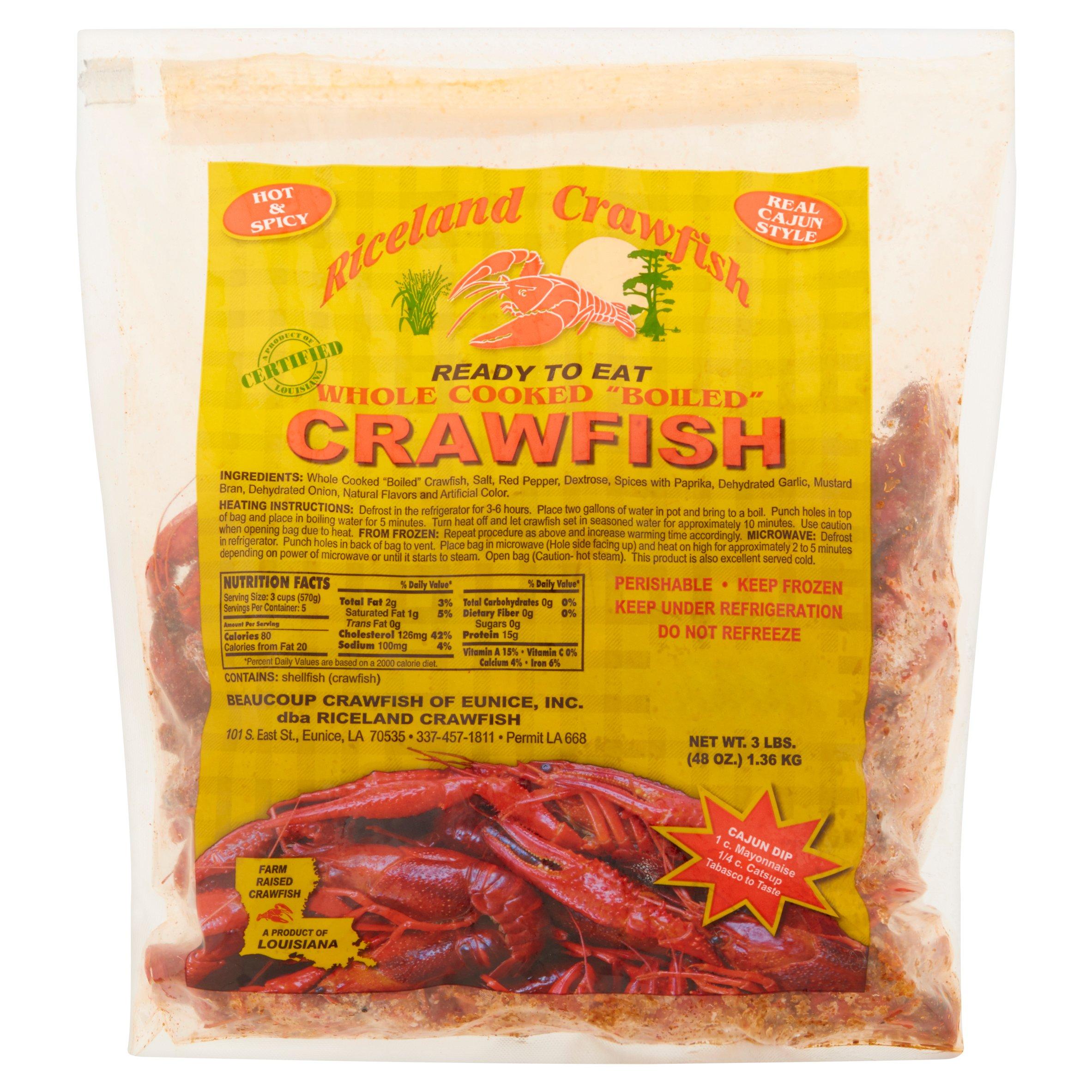 Riceland Crawfish Whole Cooked