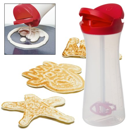 Pancake Batter Dispenser Squeeze Bottle Professional Mix & Pour ...