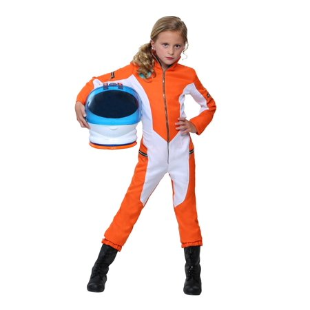 Kids Astronaut Jumpsuit - Kids Orange Jumpsuit