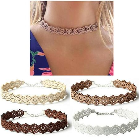 Daisy Garden Choker Necklace - All Girl Daisy Chain