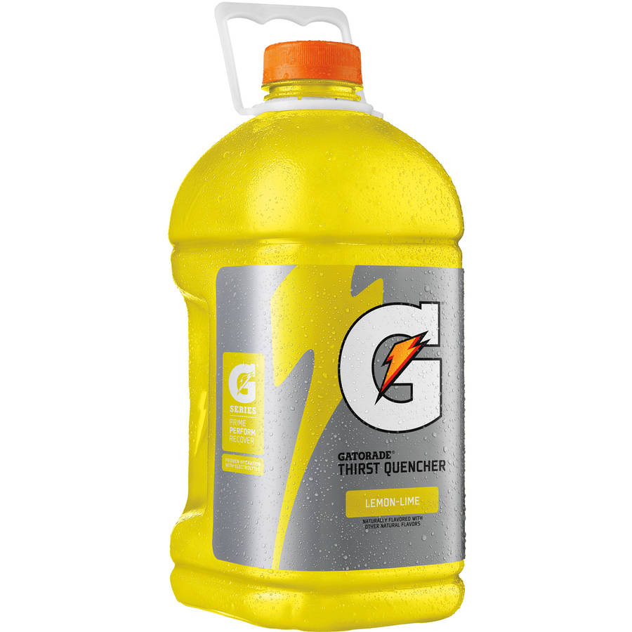 Gatorade Thirst Quencher Lemon-Lime Sports Drink, 128 Fl Oz