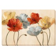 Artistic Home Gallery 'Poppy Palette Revisited' by Nan Painting Print on Wrapped Canvas