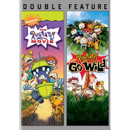 RUGRATS THE MOVIE/RUGRATS GO WILD (DVD/DBFE) (2017/BLACK FRIDAY ONLY) (DVD) - The Rugrats Halloween Vhs