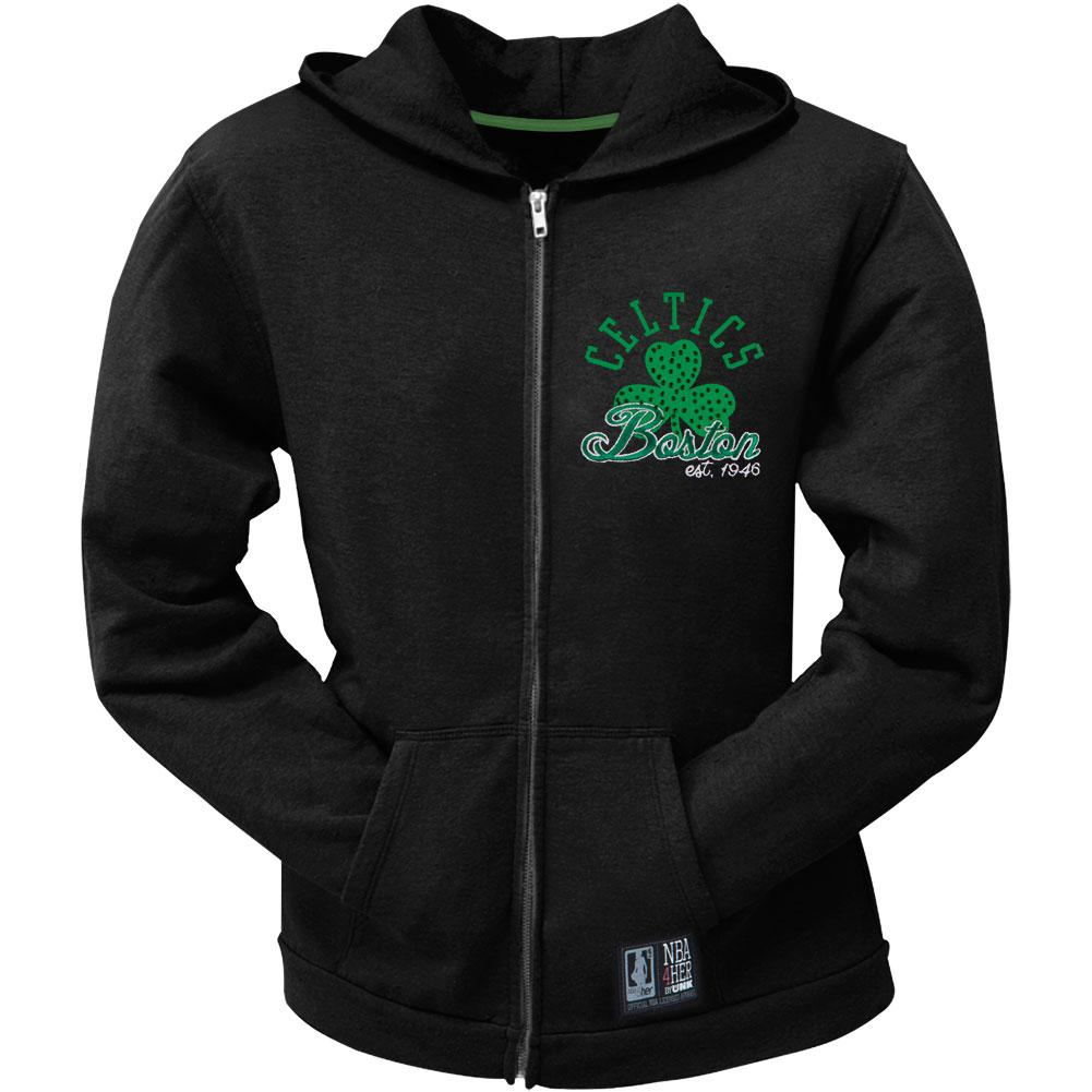 Boston Celtics - Shoot Around Juniors Hoodie