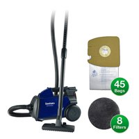 Sanitaire S3681D Mighty Mite Canister Vacuum with 1 Year Kit