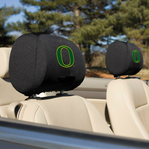 Bsi Products Inc Oregon Ducks Headrest Covers Set Of 2 Headrest Covers