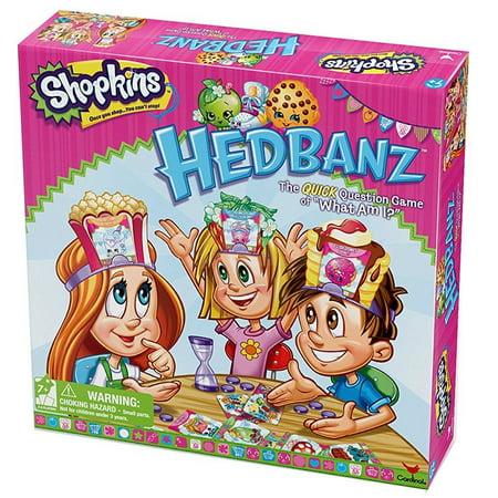 Shopkins Hedbanz Board Game - Shokins Games