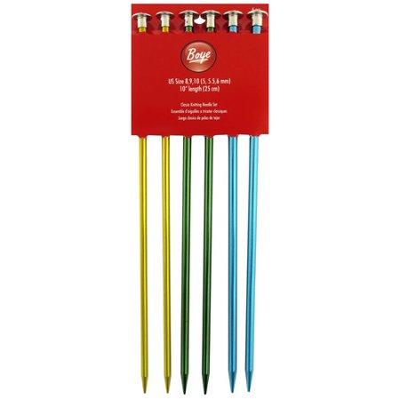 "Boye Aluminum 14"" Single-Point Knitting Needle, 1 Each"