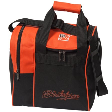 Rook Single Ball Bowling Tote Bag - Orange (Elite Bowling Ball Bag)