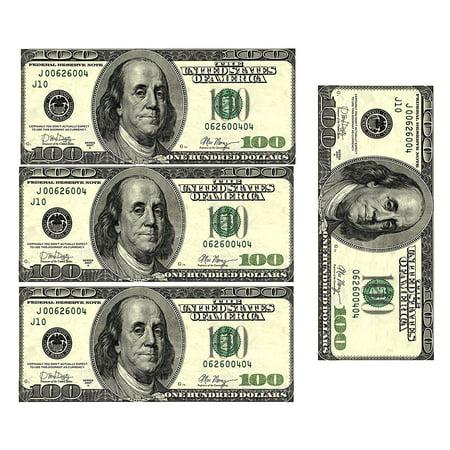 Edible 100 Dollar Bills Frosting Sheet. Real Looking Edible Money (Dollar Bead)