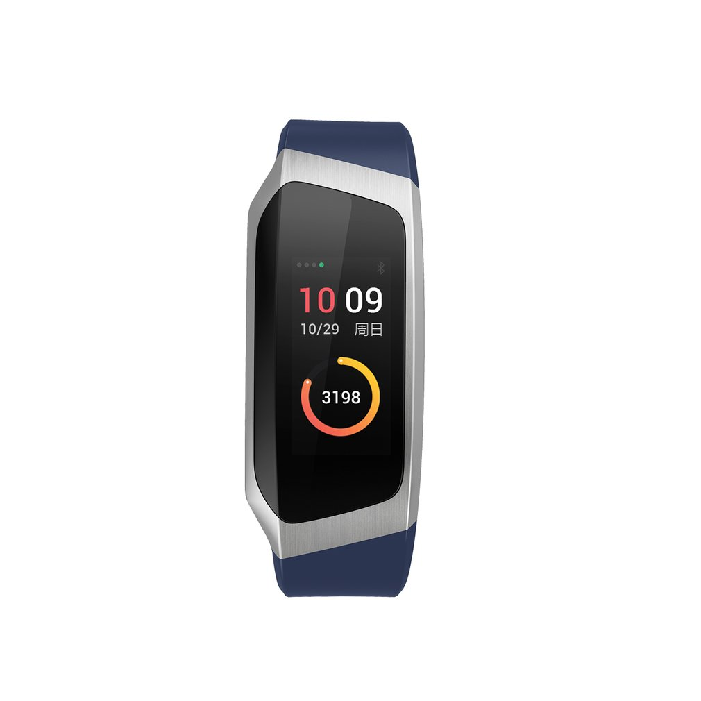 0.96 Inch Screen IP67 Smartband Blood Pressure Oxygen Heart Rate Monitor Band - image 6 de 10