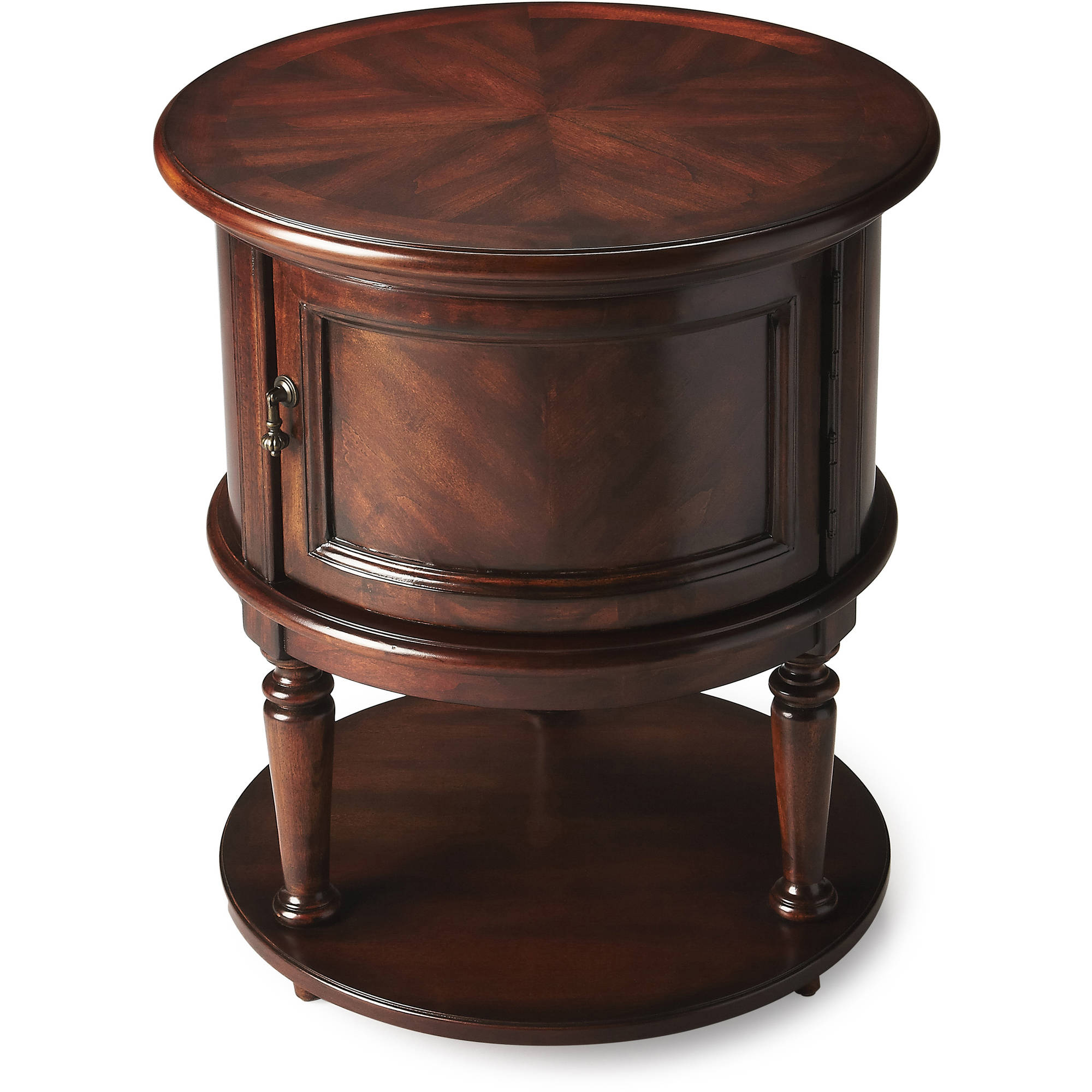 Butler Coffield Drum Table, Multiple Colors