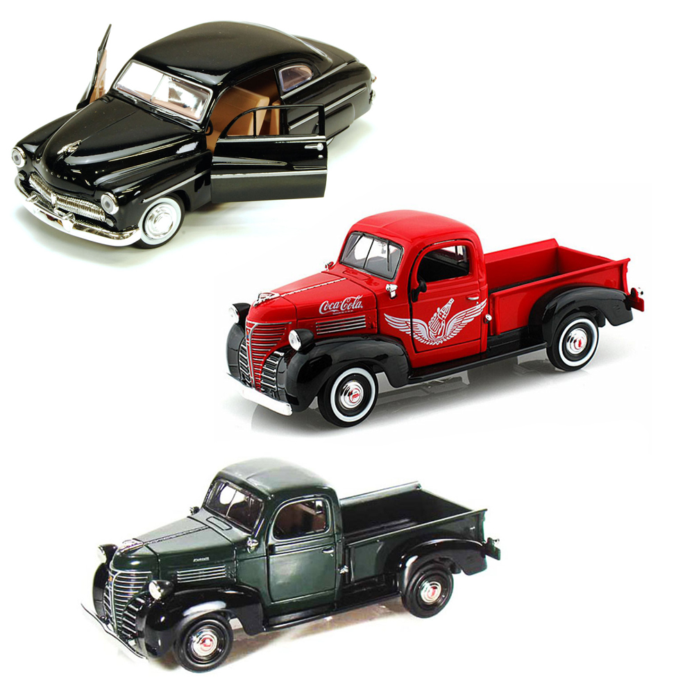 Best of 1940s Diecast Cars - Set 29 - Set of Three 1/24 S...