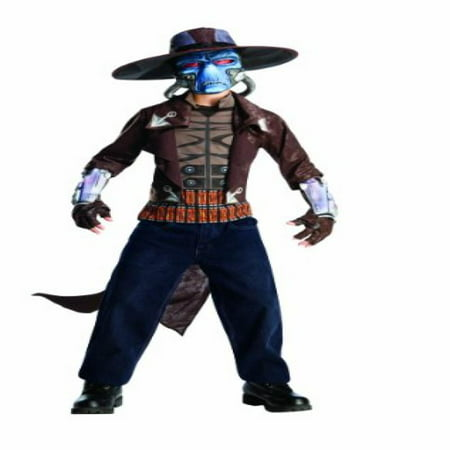 star wars the clone wars, child's deluxe costume and mask, cad bane costume, large (12-14)](Cad Bane Costume)