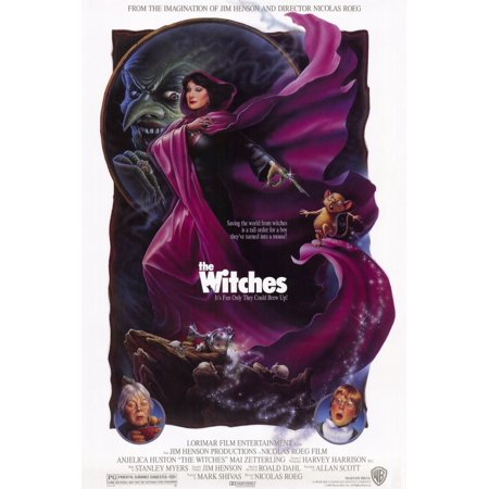 - The Witches POSTER Movie Mini Promo