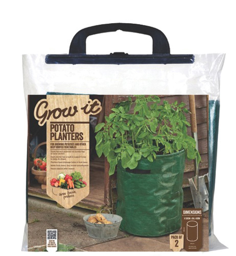 Reusable Potato Planters (Pack Of 2), Pack of TWO great value potato planters from Gardman By Gardman