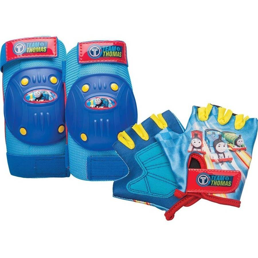 Bell Sports Thomas The Train and Friends Pad and Glove Set, Blue
