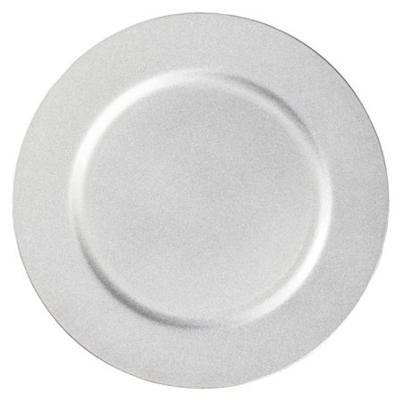 Silver Plate Chargers (Darice Charger Plate - Silver - 13)