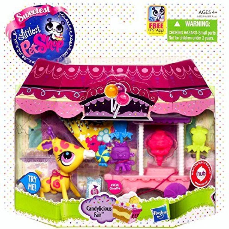 Littlest Pet Shop Sweetest Giraffe Candylicious Carnival ...