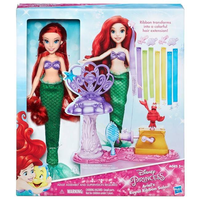 Hasbro HSBB6836 Disney Princess Ariels Royal Ribbon Salon - Set of 3