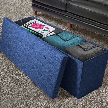 Magnificent Sorbus Storage Bench Chest Collapsible Folding Bench Ottoman With Cover Perfect Hope Chest Pouffe Ottoman Coffee Table Seat Foot Rest And Inzonedesignstudio Interior Chair Design Inzonedesignstudiocom