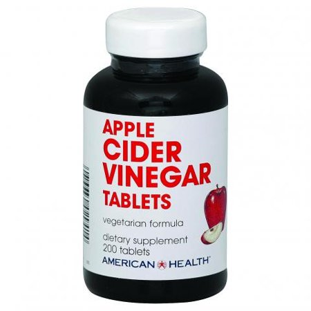 American Health American Health Vinegar Tablets  Apple Cider  200 Count
