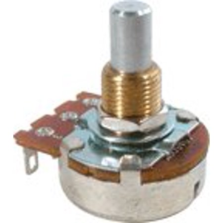 Guitar Amp Potentiometer - Guitar & Amp Potentiometer, 500K Audio, Solid Shaft By Bourns