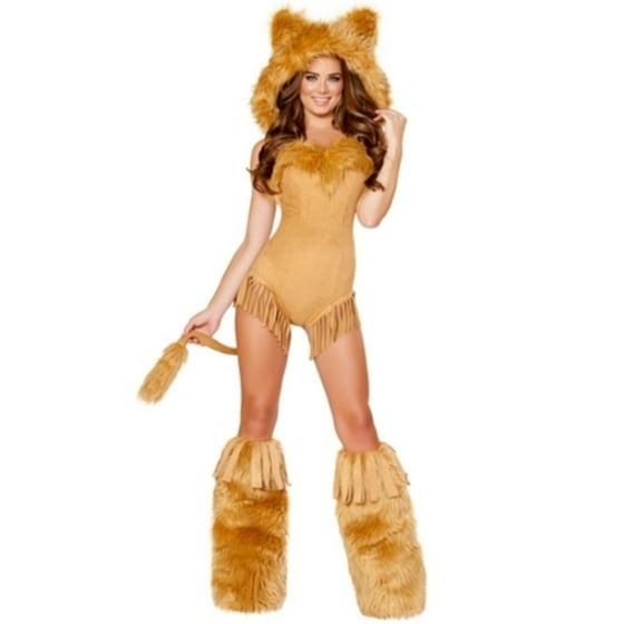 823991b0df Vicious Lioness Costume Roma Costumes 4710 Honey - Walmart.com