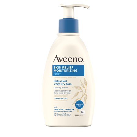 Aveeno Skin Relief Moisturizing Lotion for Sensitive Skin, 12 fl. oz