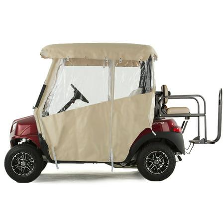 Golf Cart Enclosure TOURING 3-Sided Vinyl for Club Car Onward - Choose Color