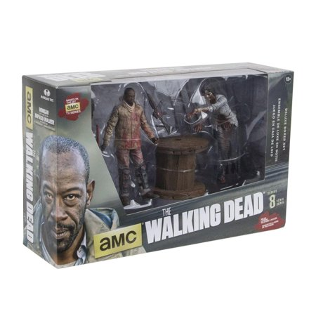 Mcf-the Walking Dead Tv Morgan With Impaled Walker 5-inch Deluxe Box (TMP International Inc) - The Walking Dead Car Accessories