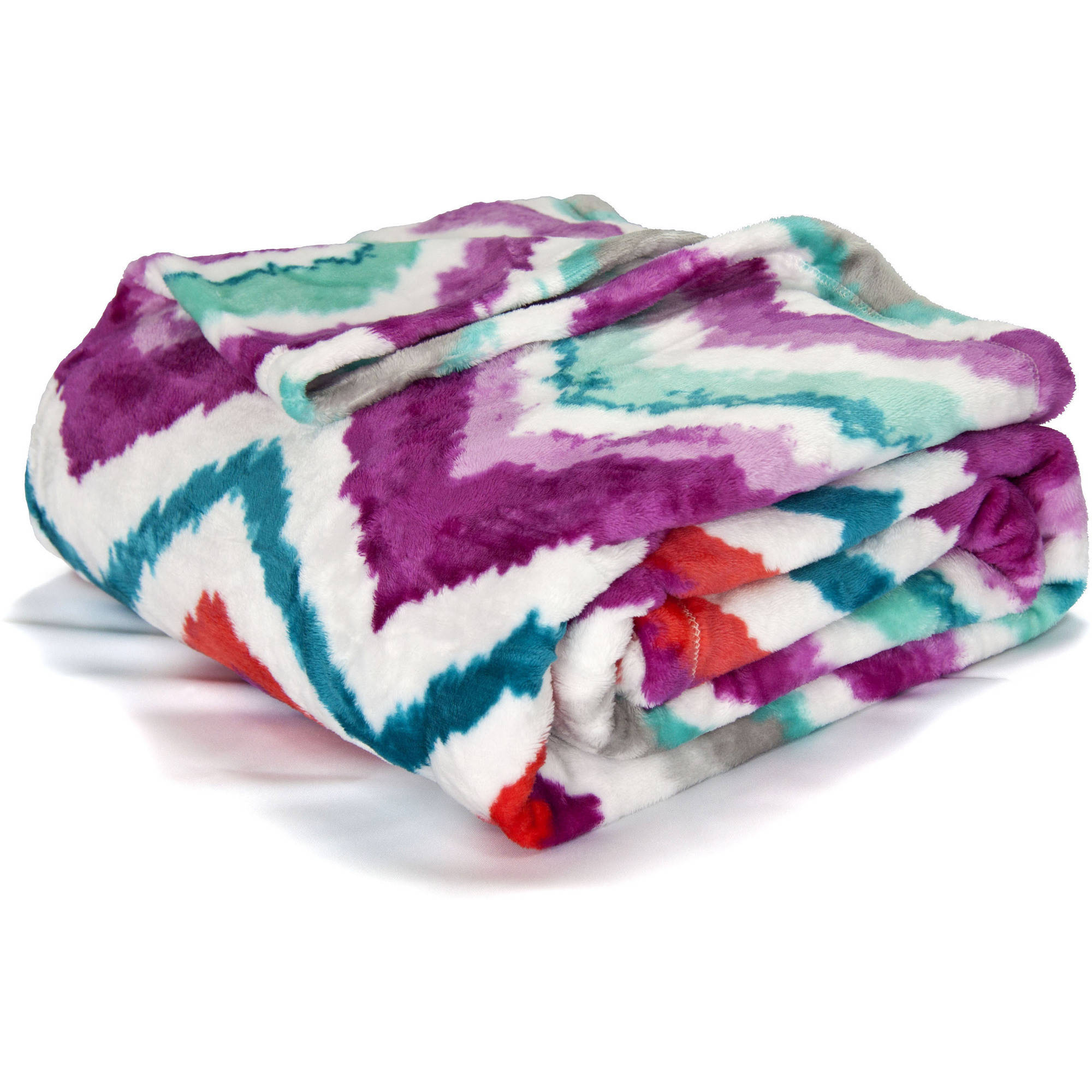 Mainstays Deluxe Plush Blanket Walmart Com Walmart Com
