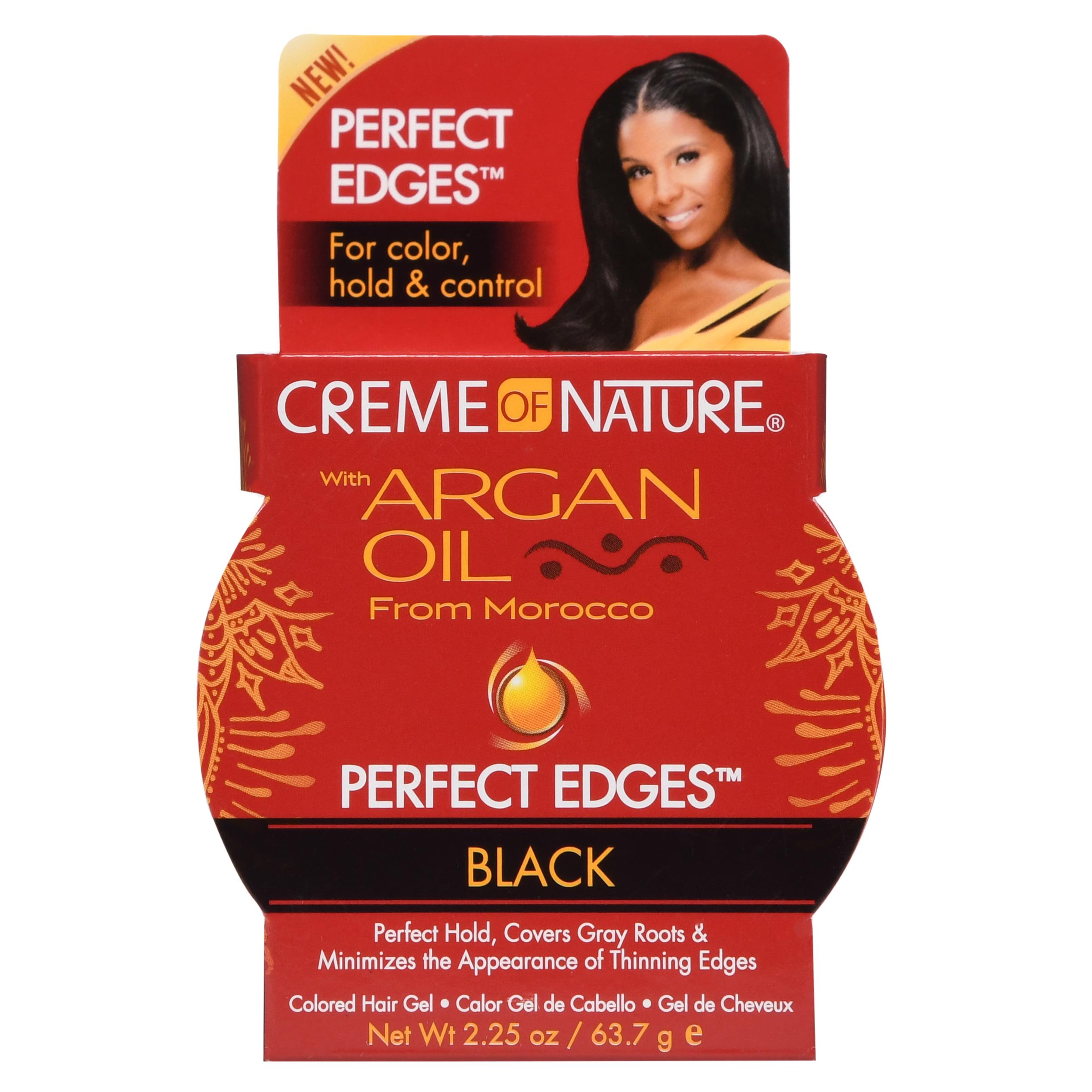 Creme of Nature Perfect Edges, Black 2.25 oz