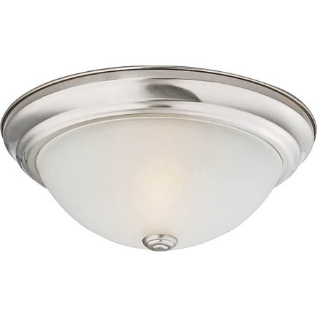 Prosource 9815721 dimmable ceiling light fixture 2 60 w standard prosource 9815721 dimmable ceiling light fixture 2 60 w standardcfl lamp aloadofball Image collections