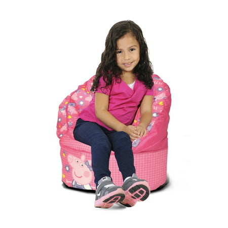 Peppa Pig Kids Bean Bag Chair - Pappe Pig