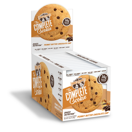 Lenny & Larry's Peanut Butter Chocolate Chip Complete Cookie 12 Pack (6