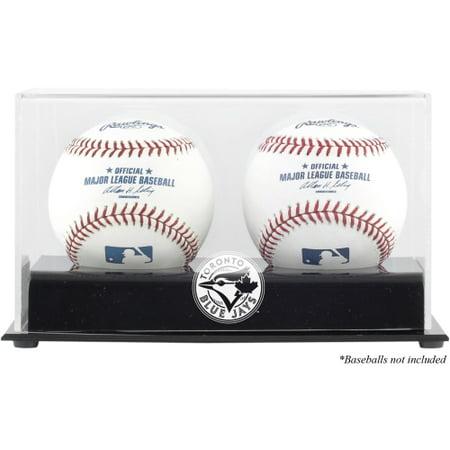 Toronto Blue Jays Fanatics Authentic Two Baseball Cube Logo Display Case - No (Toronto Blue Jays Baseball Display)