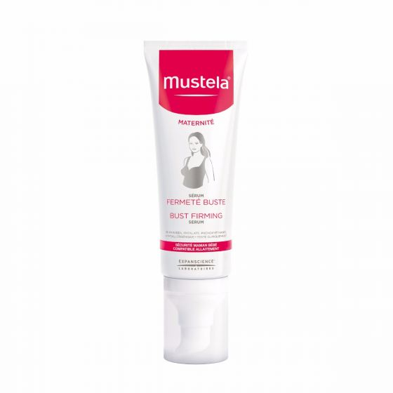 Mustela Maternity Bust Firming Serum, Pregnancy Skin Care, with Natural Avocado Peptides, 2.53 Oz. by Mustela