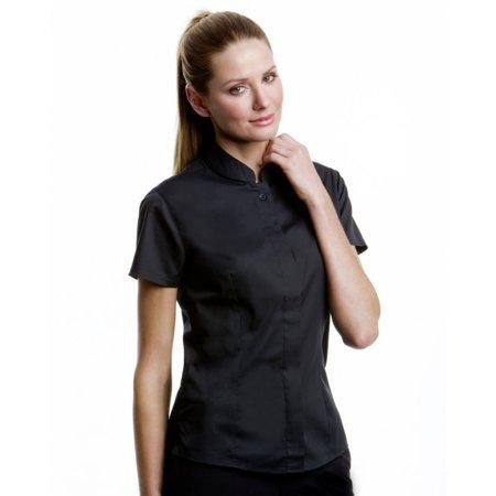 Bargear Ladies Short Sleeved Mandarin Collar Bar Shirt - image 4 of 6