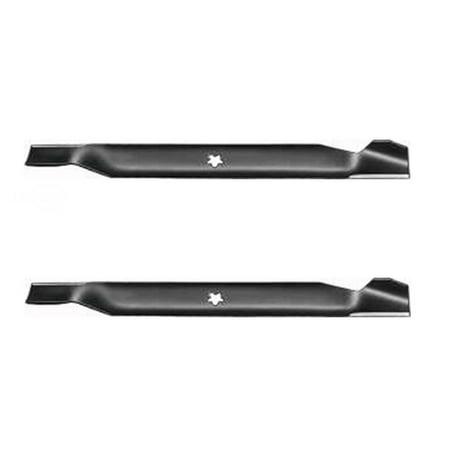(2) Craftsman AYP Poulan Husqvarna Hi Lift Mower Blades 42