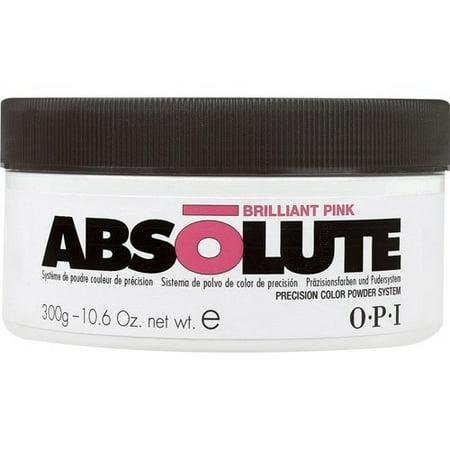 OPI Nail Absolute Acrylic Powder Brilliant Pink 10.6oz