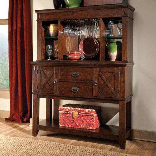 Standard Furniture Sonoma Sideboard and Hutch